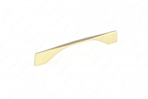 Contemporary Metal Pull - 9253 - 201 mm / 11 mm - Brushed Gold