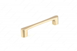 Contemporary Metal Pull - 7470 - 144 mm / 7 mm - Satin Brass