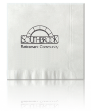 Luncheon Napkins - 3 Ply White Size: 6 1 /2 x 6 1 / 2