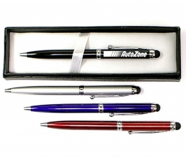 Ballpoint Pen with Soft Touch Stylus and Gift Box