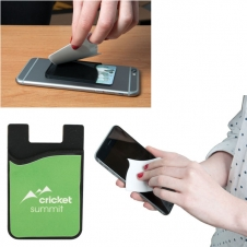 E-Z Import™ Sb5499 Smart Phone Wallet With Screen Cleaner