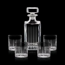 Bacchus Decanter & 4 OTR