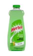HERTEL MULTI PURPOSE DISINFECTANT CLEANER APPLE