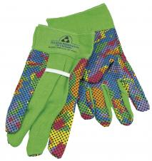 Multi-colored garden glove #RushExpress72hrs