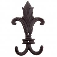 Timber - Iron hook in shape of Fleur de lis