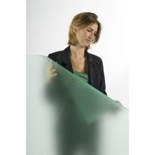 Window Films - Decorative Films - Full Frosted Films - INT 404 Green Sparkle Frosted