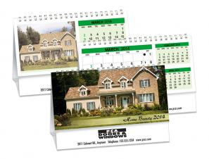 Desk Calendars - HOME BEAUTY - DOUBLE VIEW®