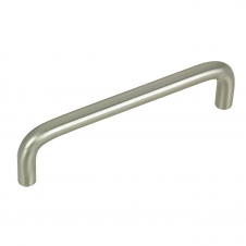 Functional Steel Pull - 26 and 332 - 4 - Brushed Nickel