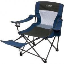 Foldable Chair w/Foot Rest