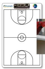 1/8 Styrene Coaches Board (Basketball)