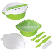 MUNCH N' GO LUNCH CONTAINER WITH CUTLERY