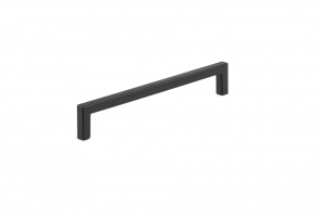 Contemporary Metal Pull - 873 - 192 mm - Matte Black