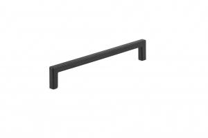 Poignée contemporaine en métal - 873 - 192 mm - Noir mat