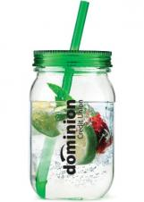 "Tritanâ""¢ Single Wall Mason Jar w/ Straw"