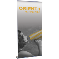 Orient 1000 - 40 x 83.25 - Retractable Banner Stand