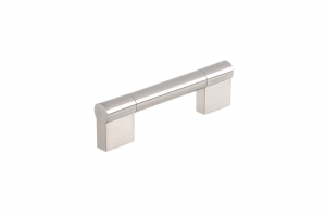 Contemporary Stainless Steel Pull - 527 - 96 mm - Brushed Nickel
