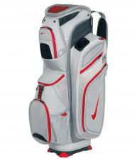 Nike - M9 cart II - Golf Bags - Metallic Silver/Red