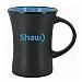 Hilo Ceramic coffee mug - Matte Out / Glossy In - 10 oz