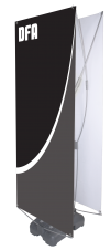 Spring 5 - SB-5 - 31.5 x 70.75 - Econo Non-retractable Banner Stand - w. Bag