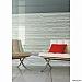 Window Films - Decorative Films - White Films - INT 500 - Horizontal Whites Lines