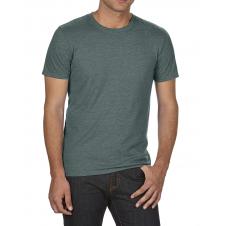 ANVIL - 6750 - T-Shirt - Triblend Col Rond - 50/25/25 - Vert foncé chiné - Small
