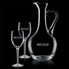 Deane Carafe & 2 Wine