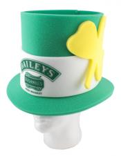 Foam Irish Top Hat