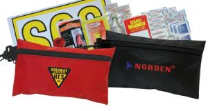 Handy Pack Road Safety & First Aid Kit - Red