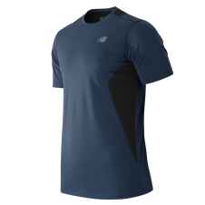 NEW BALANCE - MT53953 - T-Shirt - T-SHIRT TECHNIQUE 5 KM - 100% Polyester - Gravité - 2X-Large