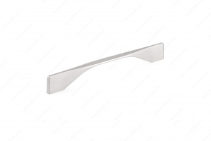 Contemporary Metal Pull - 9253 - 201 mm / 11 mm - Brushed Nickel