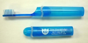 Translucent Travel Toothbrush