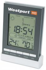 LCD clock with weather station #RushExpress72hrs