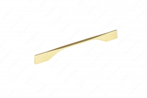 Contemporary Metal Pull - 9253 - 270 mm / 12 mm - Brushed Gold