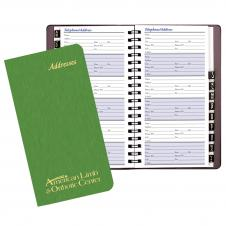 Address Book w/ Shimmer Cover