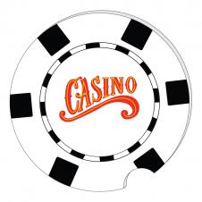 Foam Casino Car Cup Coaster