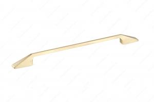 Poignée contemporaine en métal - 7238 - 320 mm - Laiton satiné