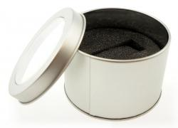 Round Metal Tin for USB's
