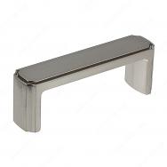 Transitional Metal Pull - 770 - 96 mm - Brushed Nickel