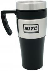 Silver accent thermal mug - 14 oz