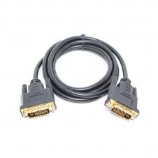 Câble DVI - Mâle / Mâle - 24 + 5 - Connecteur OR - Noir - 6 pieds