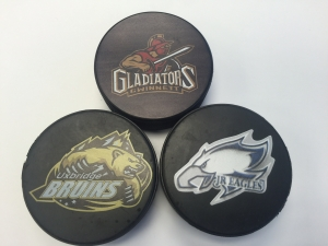 Full Color Regulation Hockey Puck