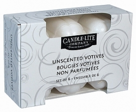 Unscented 6 Pack Votive (1601595) -Inner