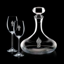Stratford Decanter & 2 Wine