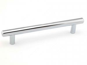Poignée contemporain en métal - 205 - 192 mm - Chrome