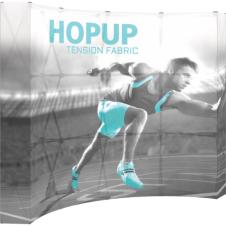 HopUp Blacklit - Curved 4x3 - 10' (110 x 89)