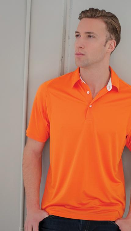 Whiteridge - 603 - Mens Zephyr Golf Shirt