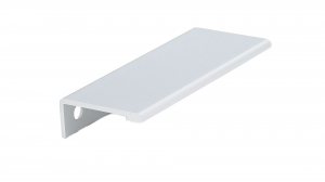 Contemporary Aluminum Edge Pull - 9898 - 80 mm - Aluminium
