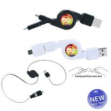 Retractable Multi USB Cable