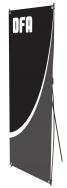 Spring 6 - SB-6 - 24.5 x 63 - Econo Non-retractable Banner Stand - w. Bag