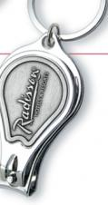 Platinum Series Nail Clipper Key Chains (Die Struck Emblem)